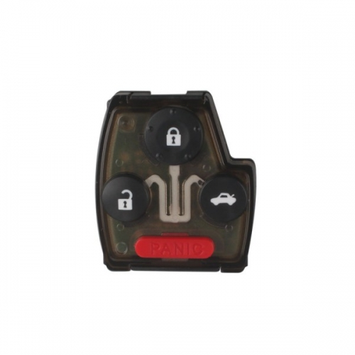 Remote Key (3+1) Button and Chip Separate ID:46 (433 MHZ) Fit ACCORD FIT CIVIC ODYSSEY For 2005-2007 Honda