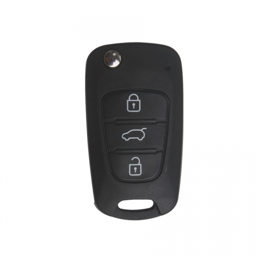 Chi Running Modified Flip Remote Key Shell 3 Button For Kia 5pcs/lot