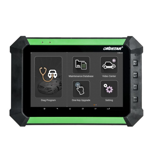 OBDSTAR X300 DP PAD Key Master Tablet Key Programmer Standard Configuration Support Toyota G & H Chip All Key