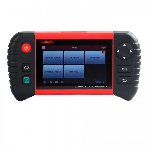 "Launch Creader CRP Touch Pro 5.0"" Android Touch Screen Full System Diagnostic Service Reset Tool"