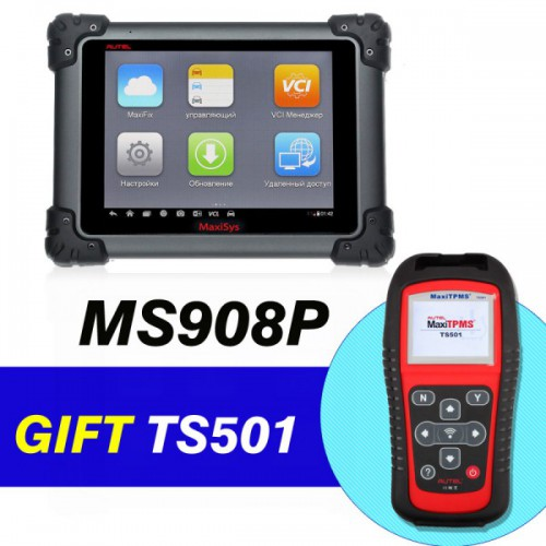 Original Autel MaxiSys Pro MS908P Diagnostic System With WiFi Get Free MaxiTPMS TS501
