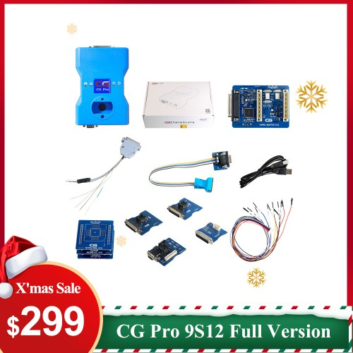 UK Ship CG Pro 9S12 Programmer Full Version Including All Adapters